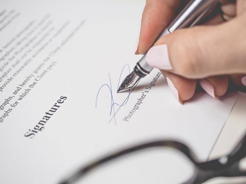 Contrato de prácticas y de formación