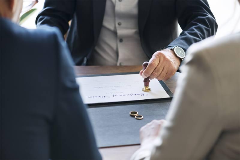 Tramitar la separación o el divorcio